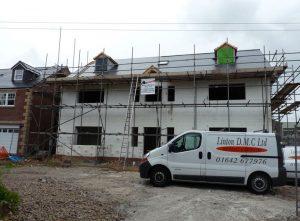 Linton DMC constructed house in Stockton on Tees