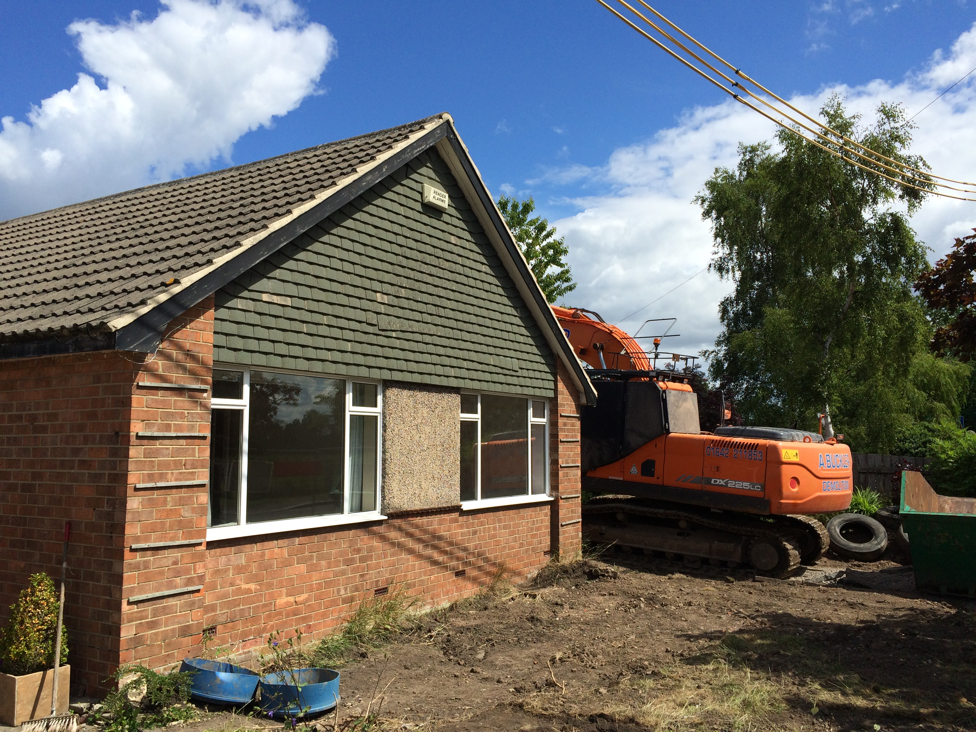 Demolition of existing dwelling and new ICF home.
