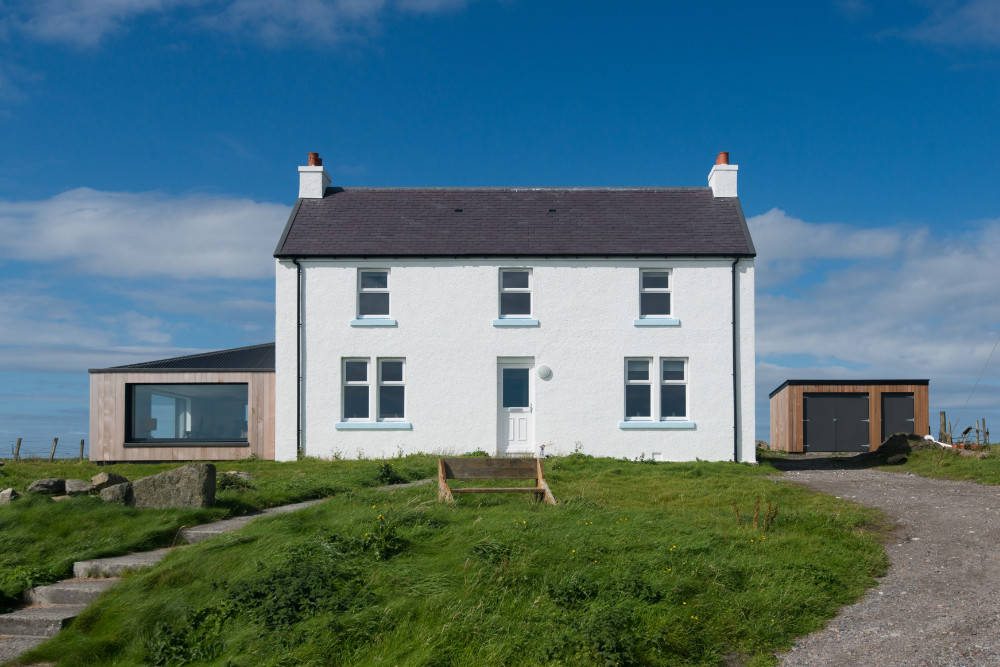 Self build ICF Crossapol Isle of Tiree